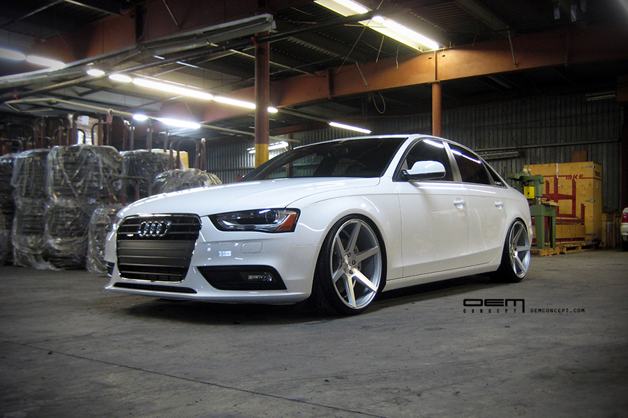 Audi A4 Custom Wheels Stance Sc6 20x10 0 Et 42 Tire