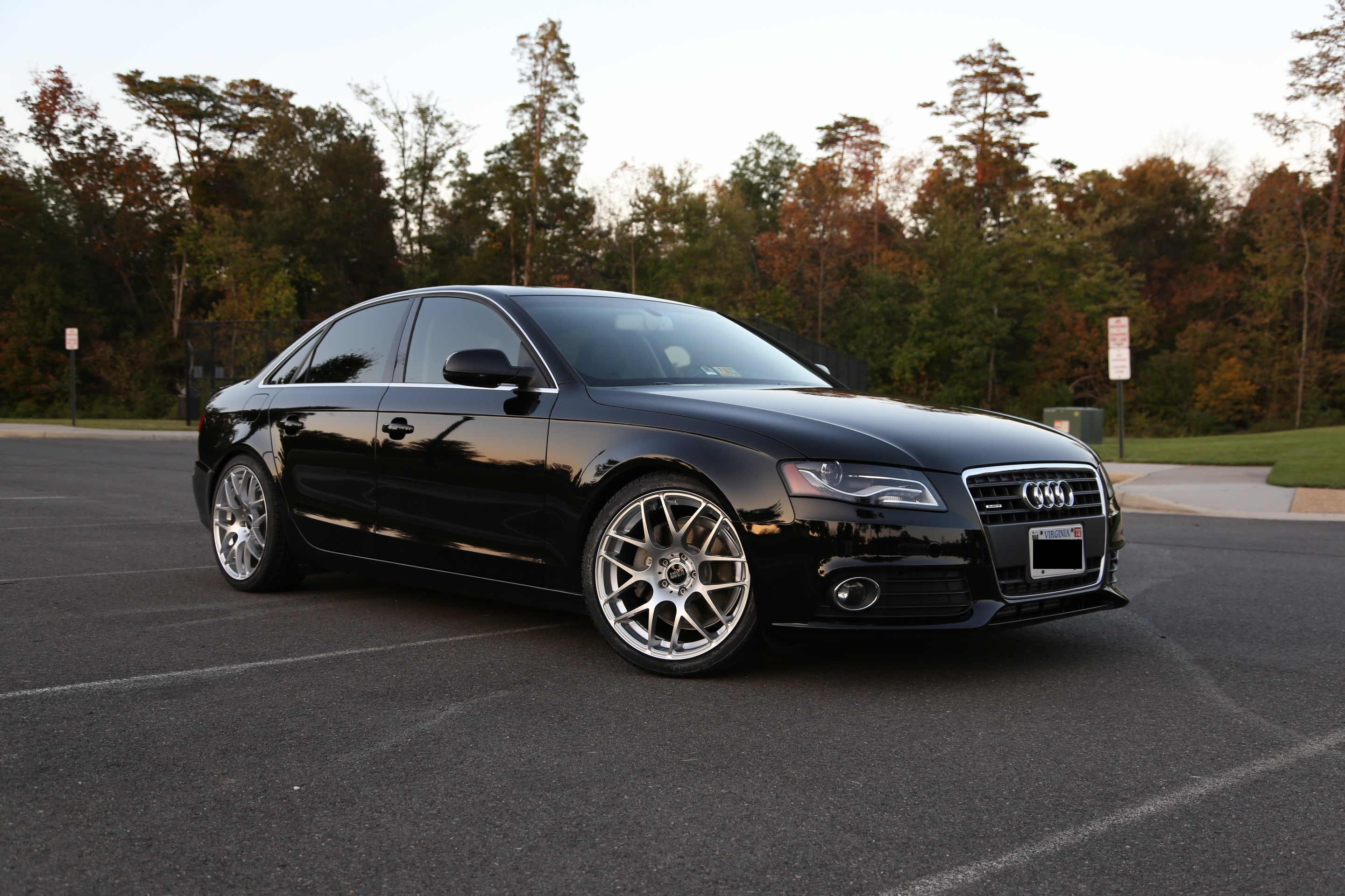 Audi A4 Custom Wheels Vmr V710 19x8 5 Et 35 Tire Size