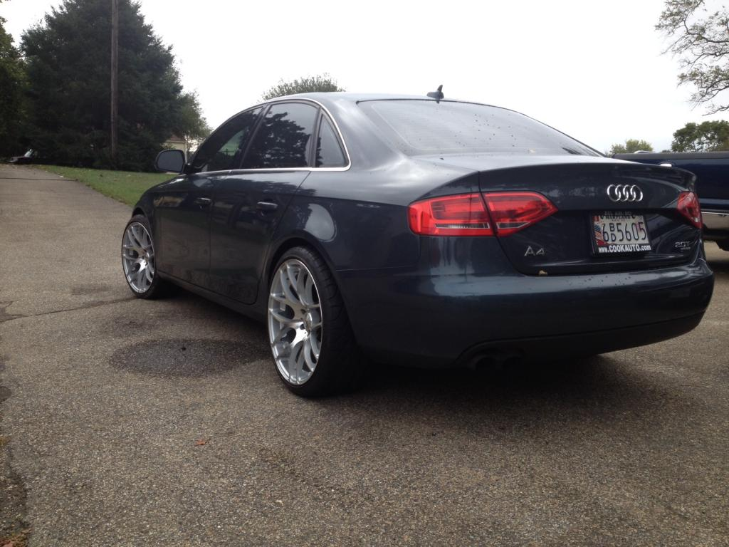 Audi A4 Custom Wheels Stasis 20x10 0 Et 25 Tire Size