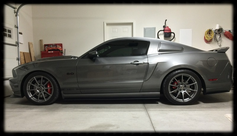 ford mustang custom wheels forgestar cf10 19x et tire size 255 40 r19 x et 285 35 r. Black Bedroom Furniture Sets. Home Design Ideas
