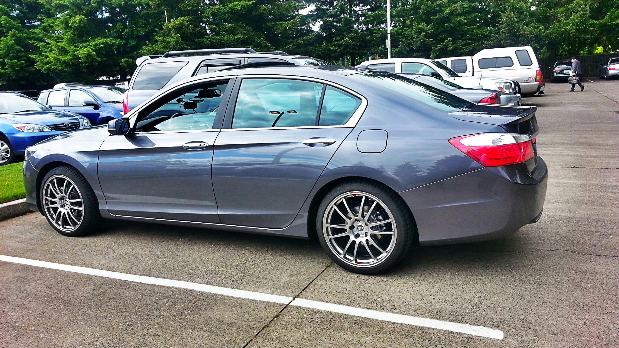 Honda Accord Custom Wheels Enkei Gtc01 19x8 5 Et 42