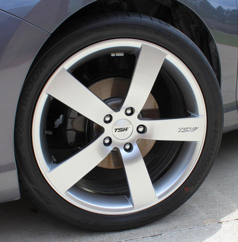 Honda Accord Custom Wheels Tsw Spa 19x8 0 Et 40 Tire