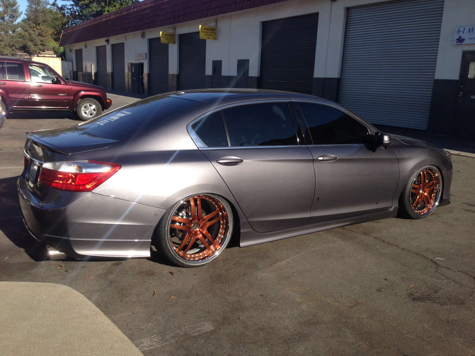 Honda Accord 0-60 >> Honda Accord custom wheels Copper VR03 20x10.0, ET +57, tire size 245/30 R20. 20x10.0 ET+19