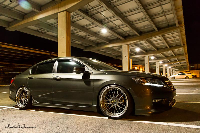 Honda Accord Custom Wheels Work Vs Xx 20x Et Tire Size