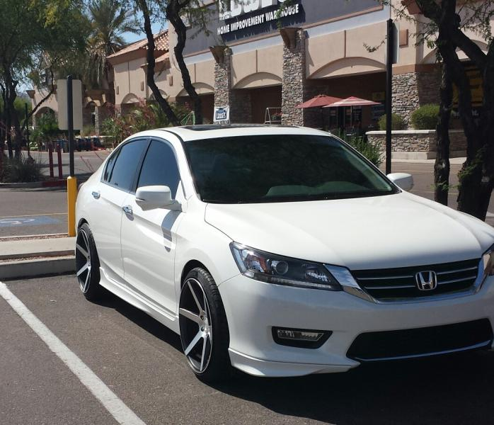 Honda Accord Custom Wheels Stance Sc 6 20x10 0 Et 35
