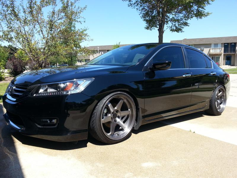 Honda Accord Custom Wheels Varrstoen Es2 19x9 5 Et 30