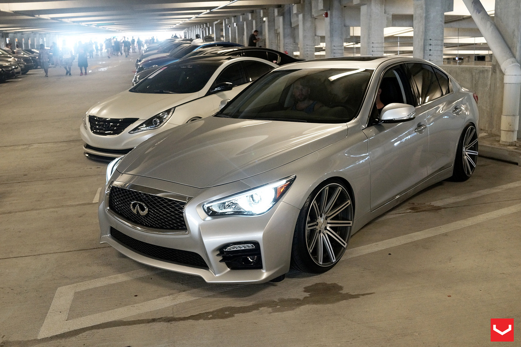 infiniti q50 custom wheels vossen cv4s 20x10 5 et 25. Black Bedroom Furniture Sets. Home Design Ideas