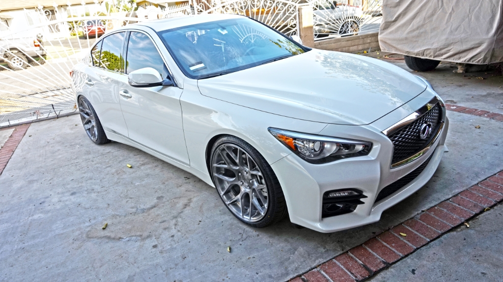 Infiniti Q50 custom wheels AG M590 20x10.0, ET , tire size ...