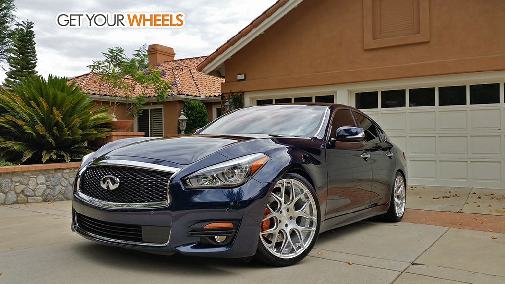 Infiniti Q70 custom wheels AG M590 20x8.5, ET , tire size ...