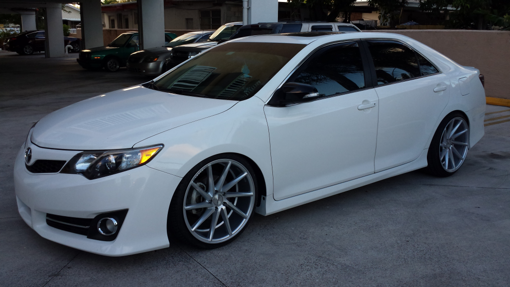 photo 2 Toyota Camry custom wheels Vossen  CVT  20x9.0, ET , tire size / R20. 20x10.5 ET