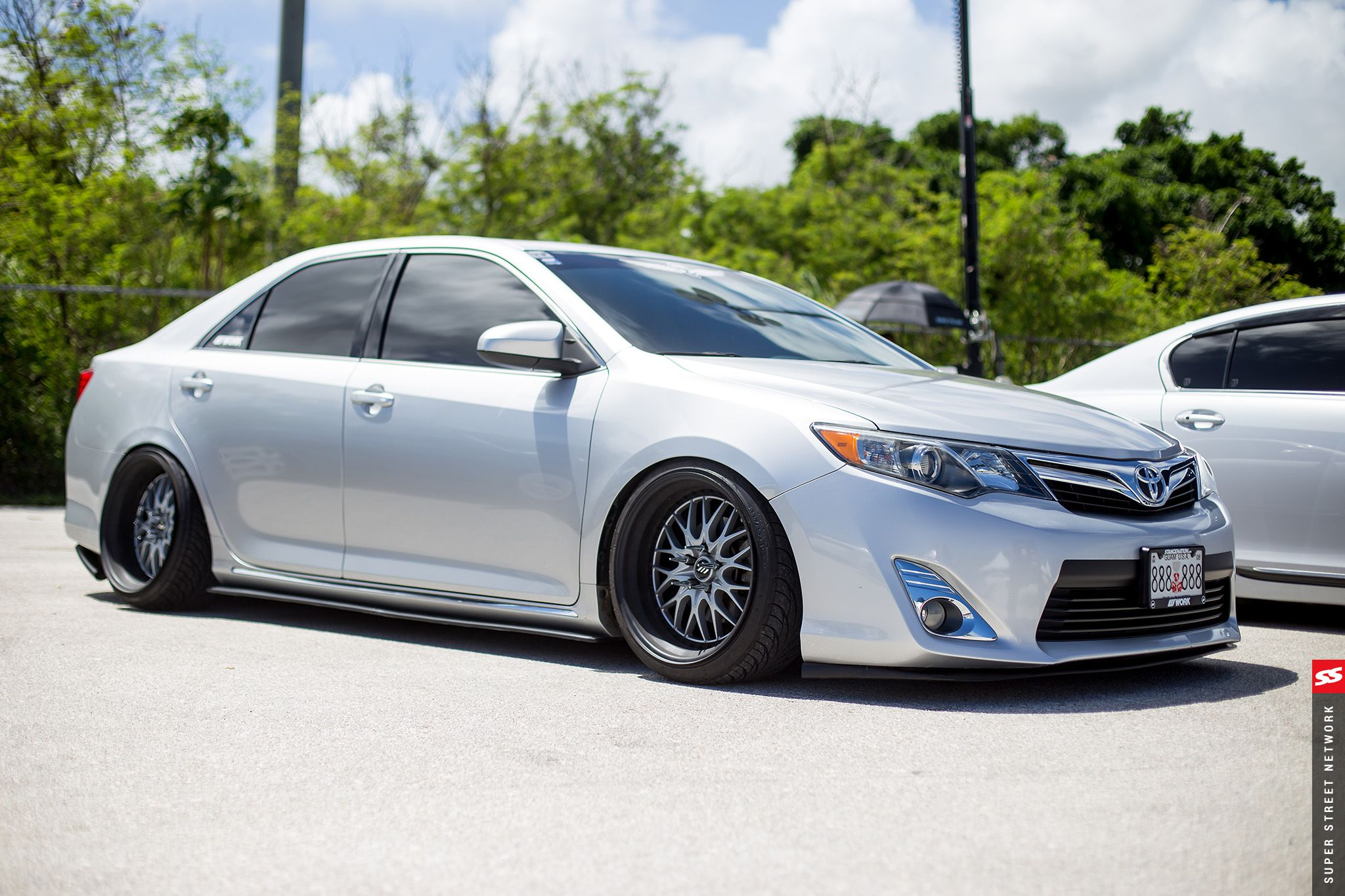 2012 Toyota Camry Aftermarket Wheels