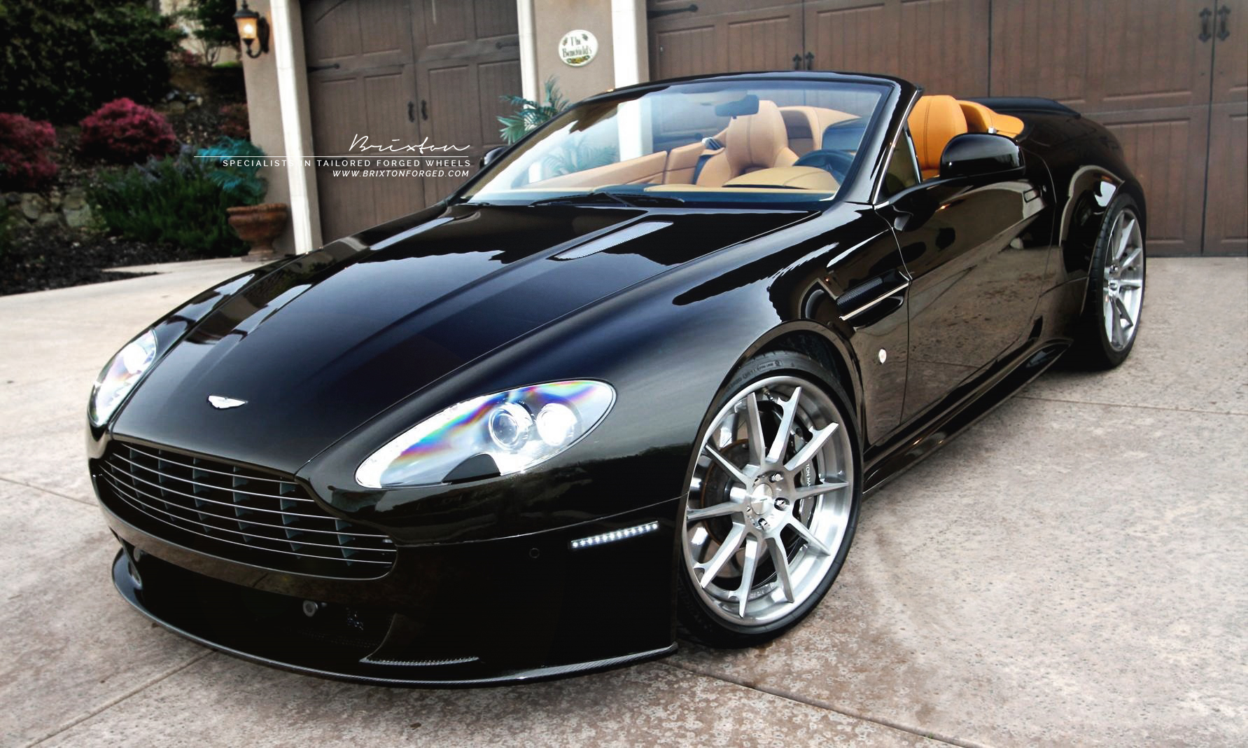 2014 Aston Martin V8 Vantage S Aftermarket Wheels