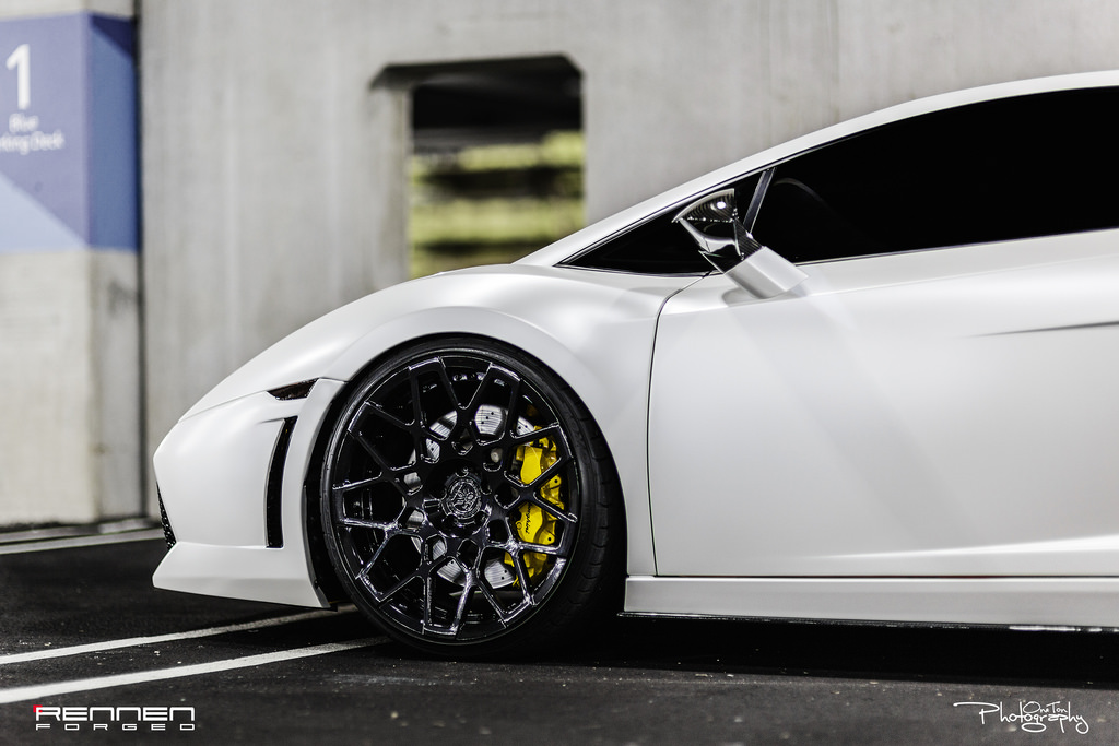 photo 4 Lamborghini Gallardo Rennen Forged RL18 20x9.0