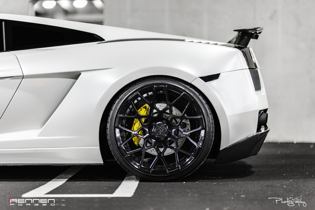 Lamborghini Gallardo Custom Wheels Rennen Forged Rl18 20x9 0 Et
