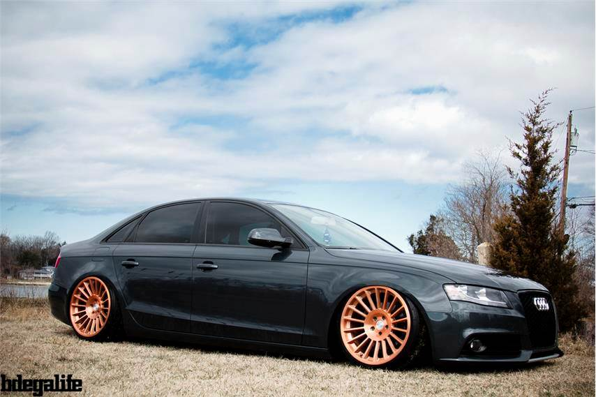 Audi A4 Custom Wheels Rotiform Ind 19x10 0 Et 29 Tire