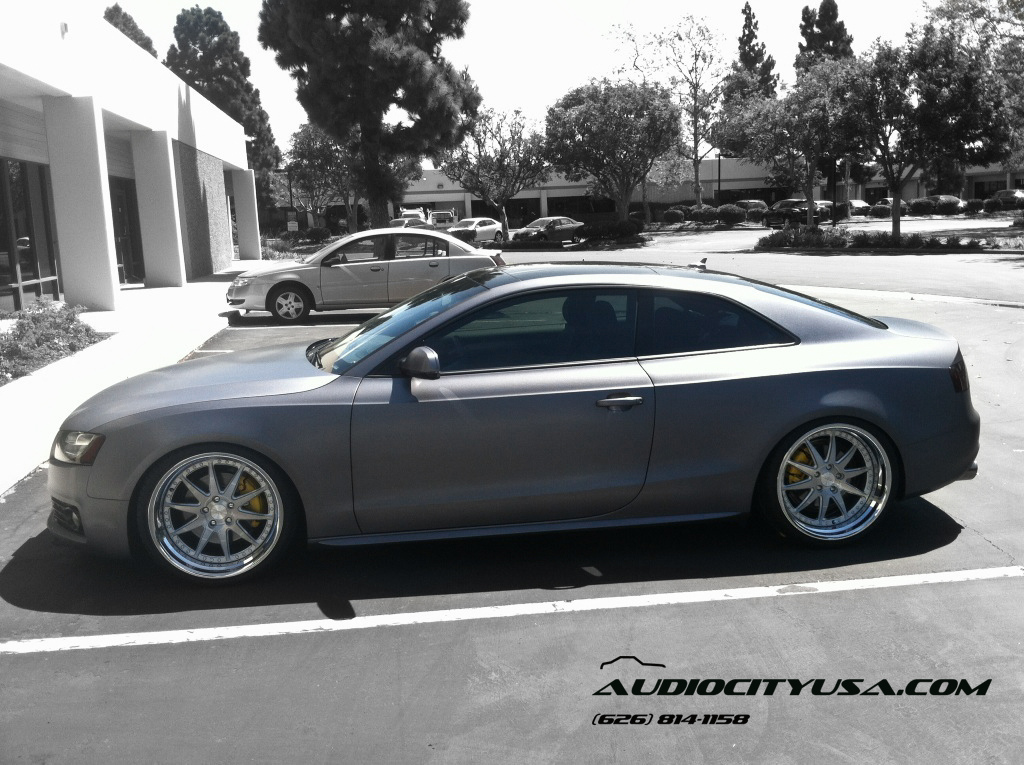 Audi A5 Custom Wheels Rennen Csl 2 20x10 0 Et Tire Size
