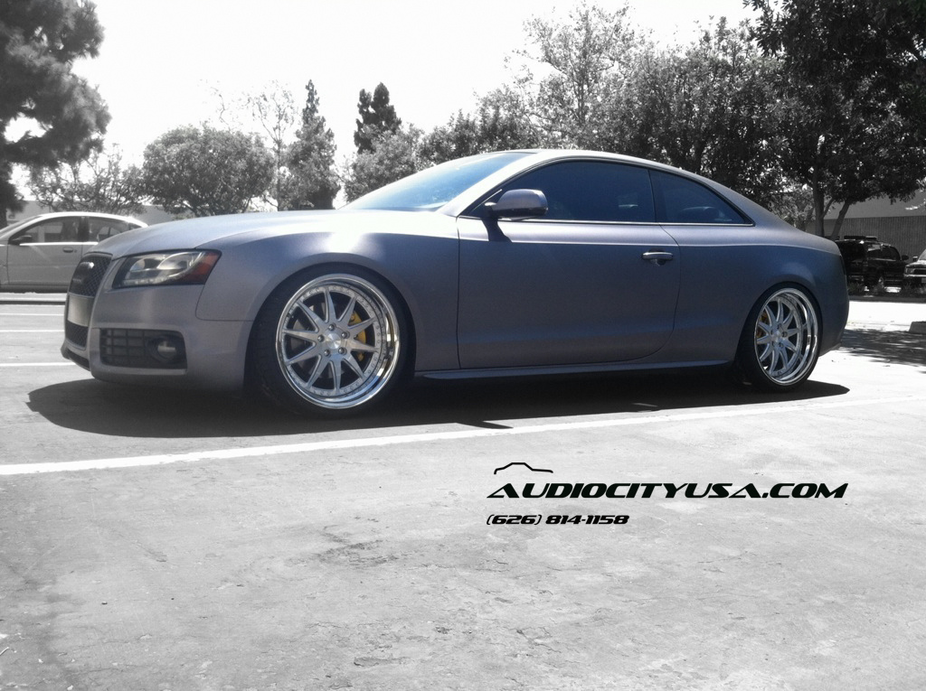 photo 3 Audi A5 custom wheels Rennen CSL 2 20x10.0, ET , tire size / R20. x ET