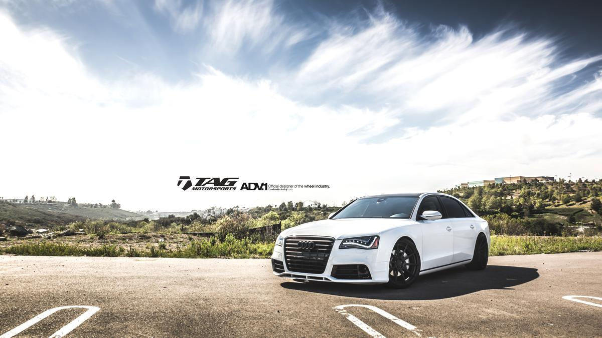 Audi A8 custom wheels ADV10 MV2 SL 22x, ET , tire size 245 ...