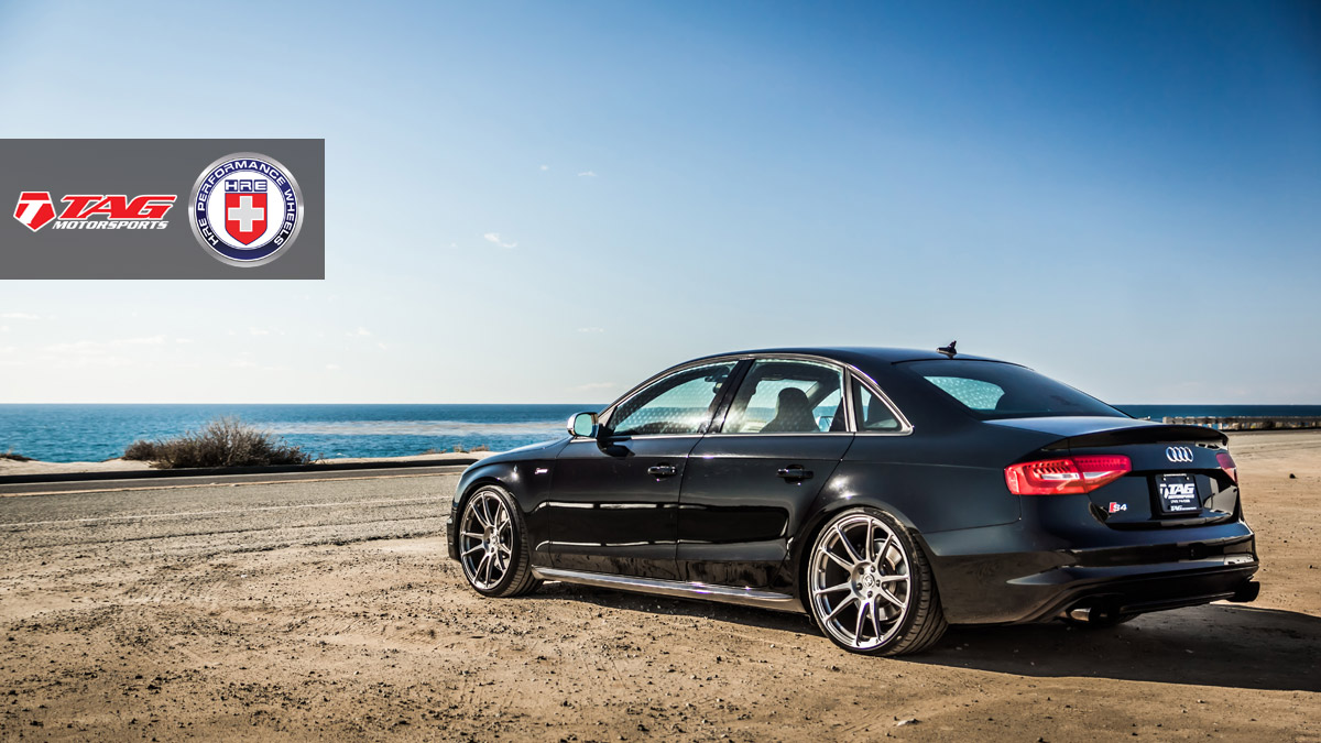 Audi S4 Custom Wheels Hre P44sc 20x10 0 Et Tire Size