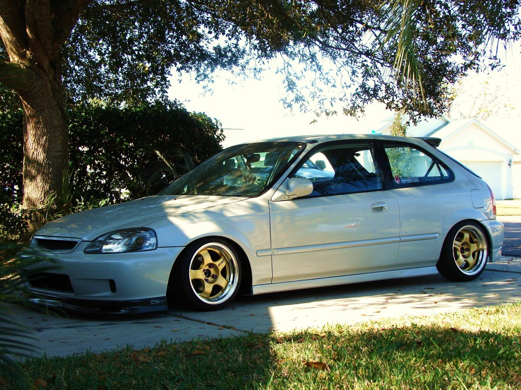 1998 Honda Civic Aftermarket Wheels