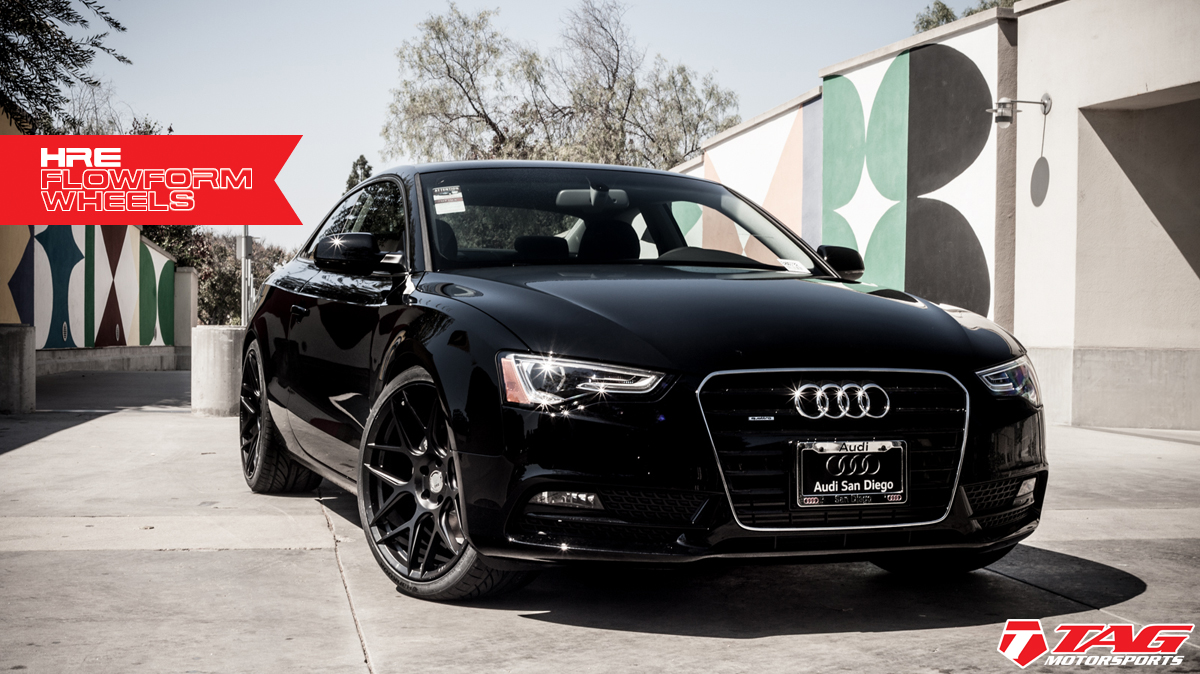 photo 3 Audi A5 custom wheels HRE FlowForm FF01 20x10.5, ET , tire size 285/30 R20. x ET