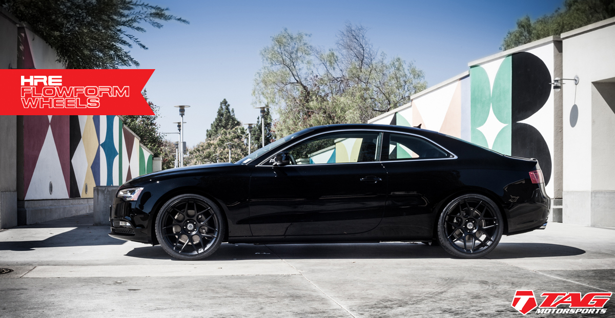 photo 4 Audi A5 custom wheels HRE FlowForm FF01 20x10.5, ET , tire size 285/30 R20. x ET