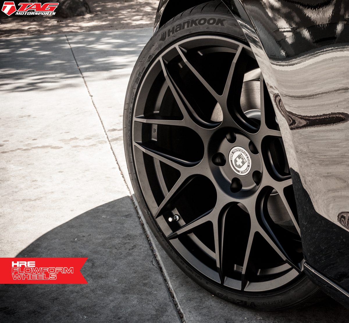 photo 5 Audi A5 custom wheels HRE FlowForm FF01 20x10.5, ET , tire size 285/30 R20. x ET