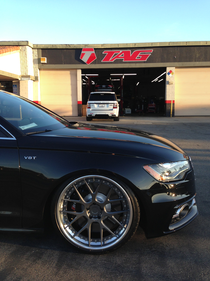 Audi S6 Custom Wheels Adv 1 7ts 21x Et Tire Size R21