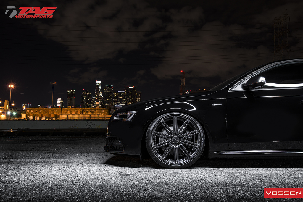 Audi S4 Custom Wheels Vossen Cv4 20x9 0 Et Tire Size