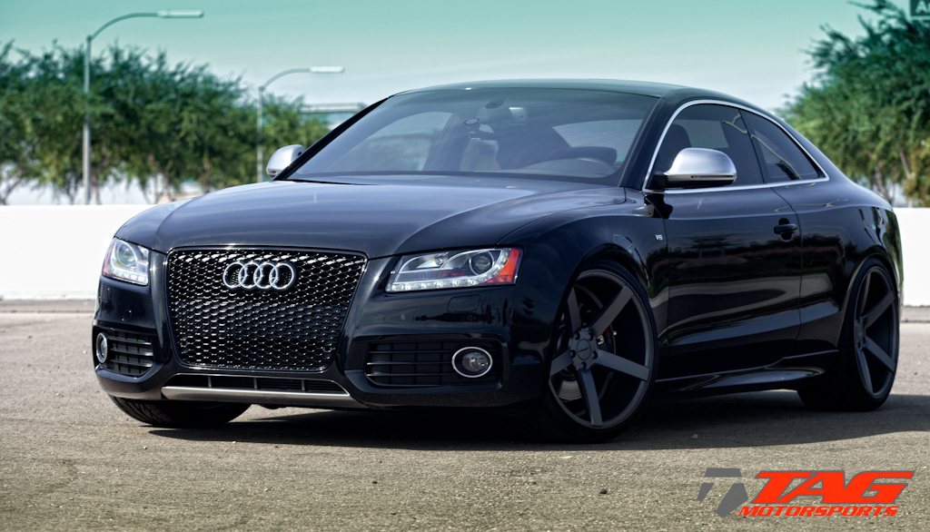 Audi S5 Custom Wheels Vossen Cv3 20x10 5 Et Tire Size