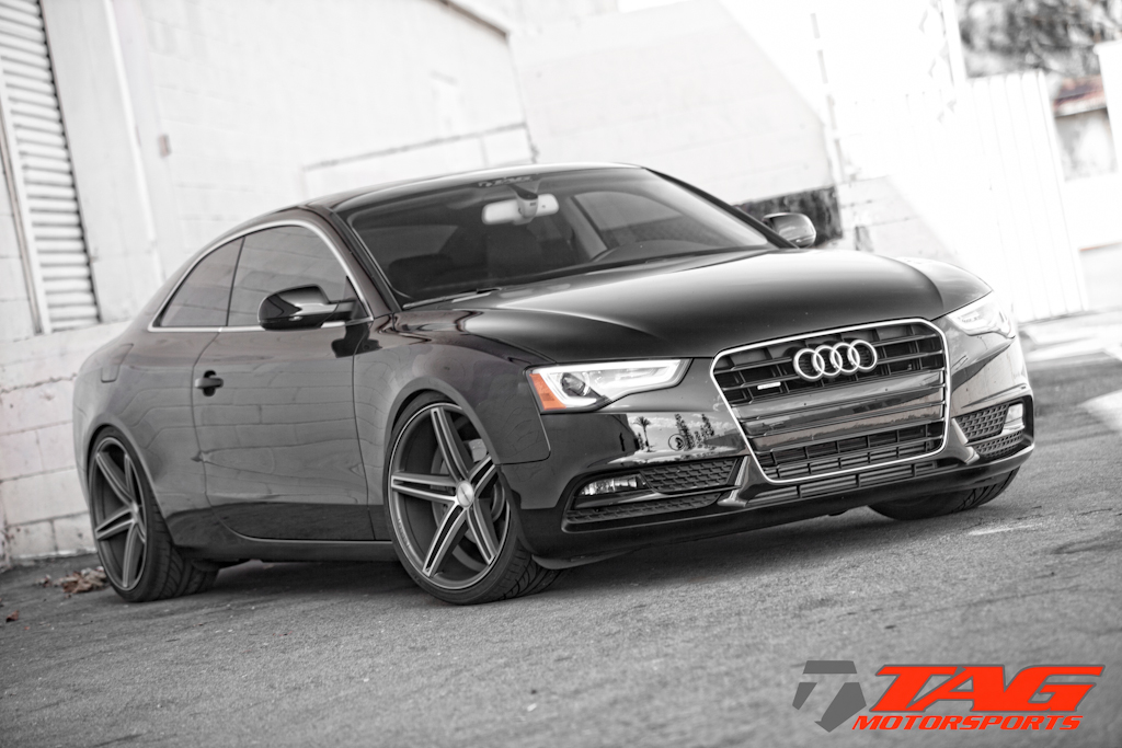 photo 3 Audi A5 custom wheels Vossen CV5 x, ET , tire size 275/30 R. x ET