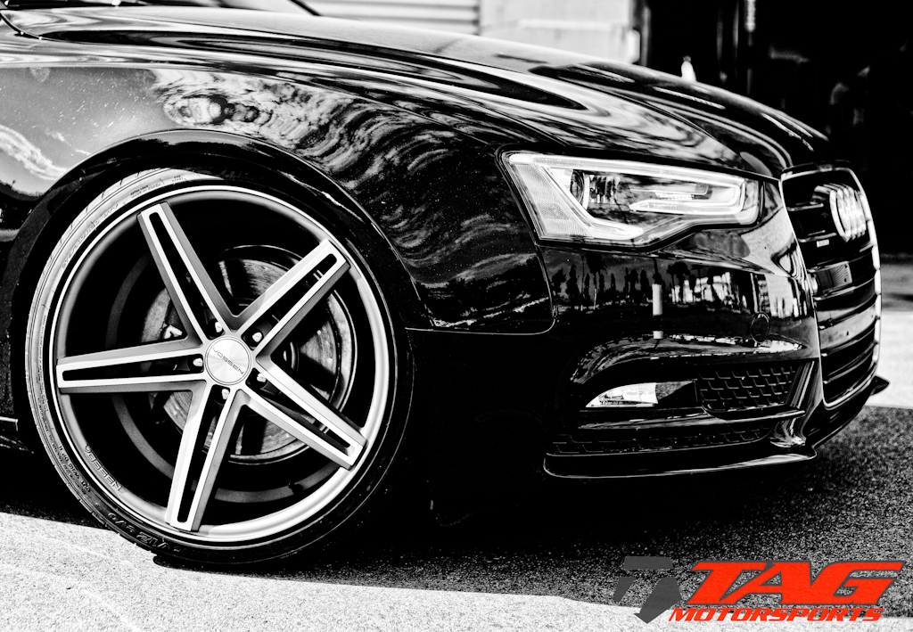 photo 1 Audi A5 custom wheels Vossen CV5 x, ET , tire size 275/30 R. x ET