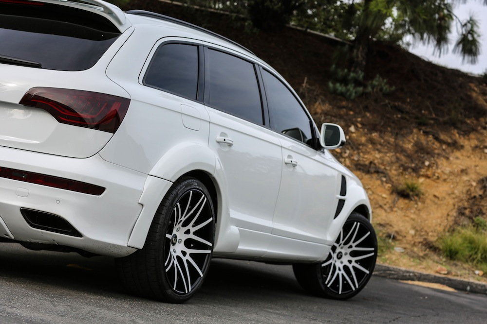 Audi Q7 Custom Wheels Forgiato Maglia Ecl 22x Et Tire