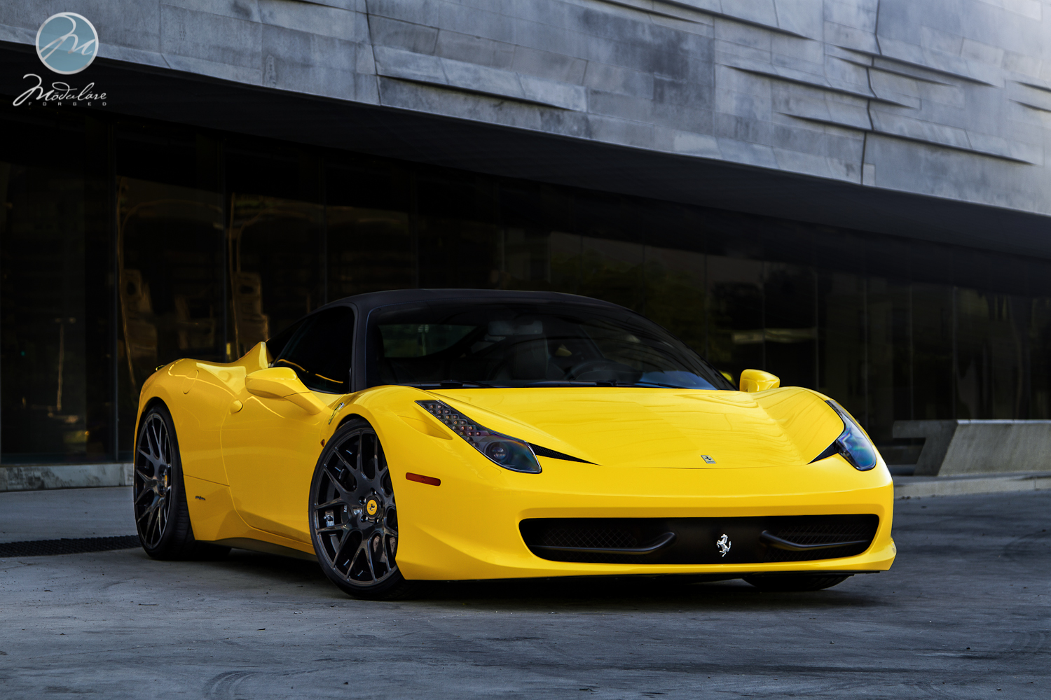 ferrari 458 italia custom wheels modulare b1 21x9 0 et. Black Bedroom Furniture Sets. Home Design Ideas