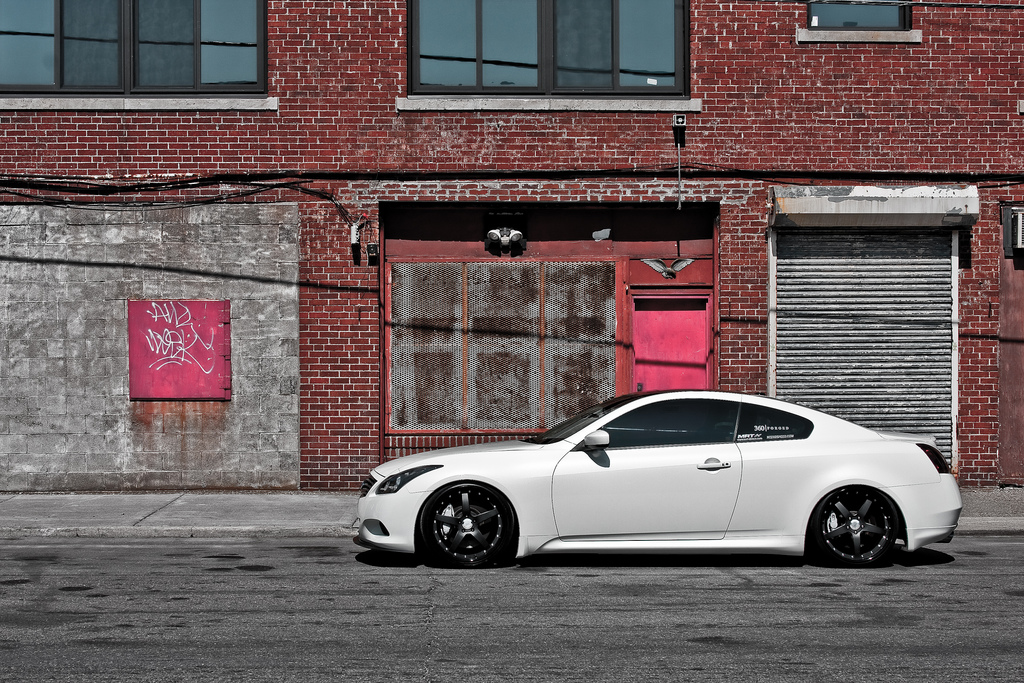 infiniti g37 custom wheels 360 straight 5ive 20x9 0 et. Black Bedroom Furniture Sets. Home Design Ideas