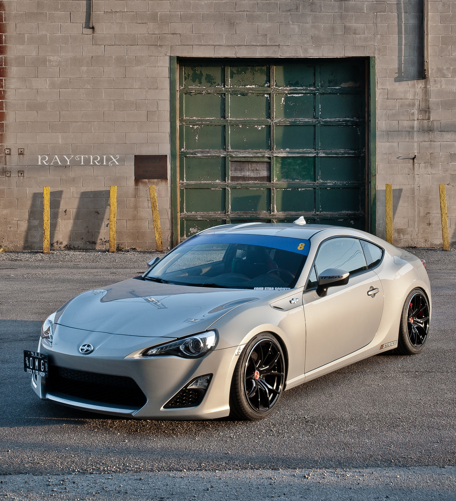 scion fr s custom wheels gram lights 57fxx 18x9 5 et 38 tire size 245 35 r18 x et 255 35 r. Black Bedroom Furniture Sets. Home Design Ideas