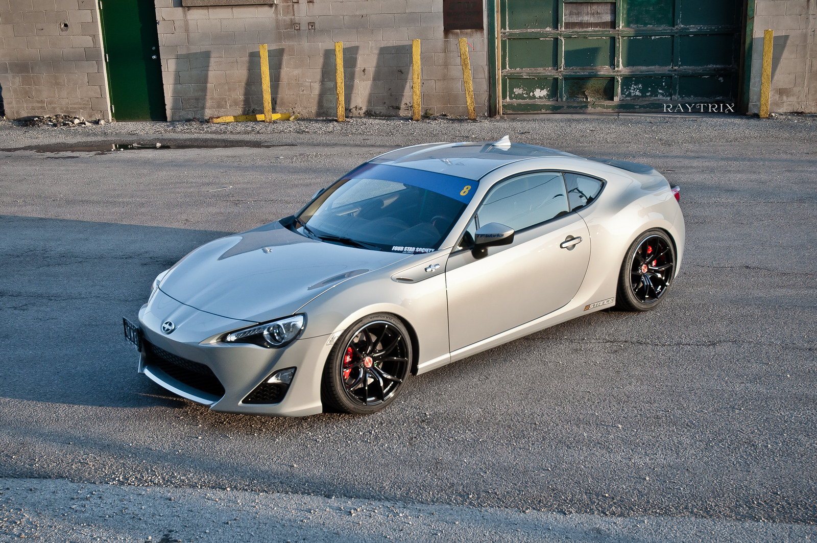 Scion FR-S custom wheels Gram Lights 57FXX 18x9.5, ET +38 ...