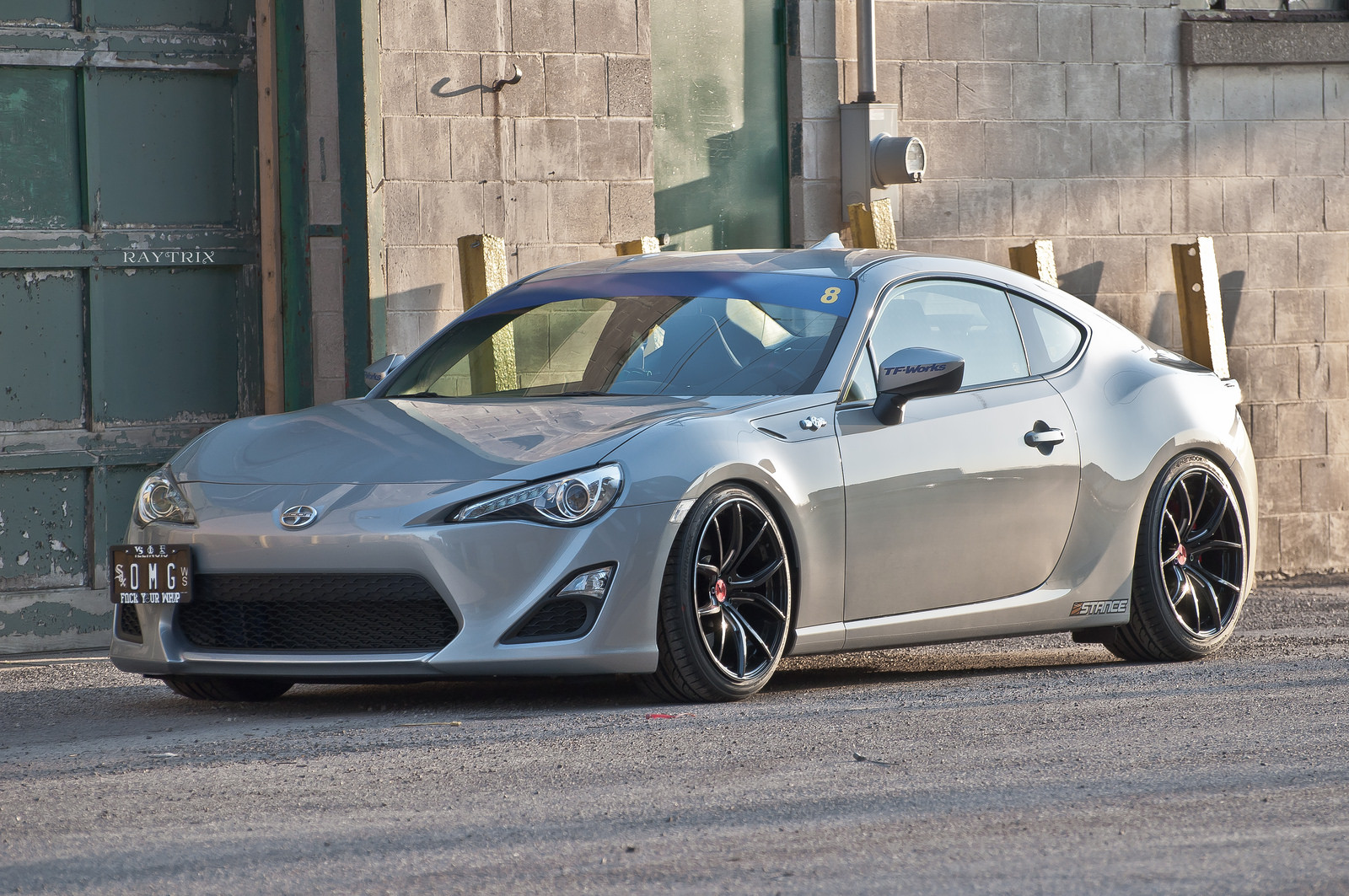 Scion fr s custom wheels gram lights 57fxx 18x9 5 et 38 tire size 245 35 r18 x et 255 35 r - Scion frs custom ...