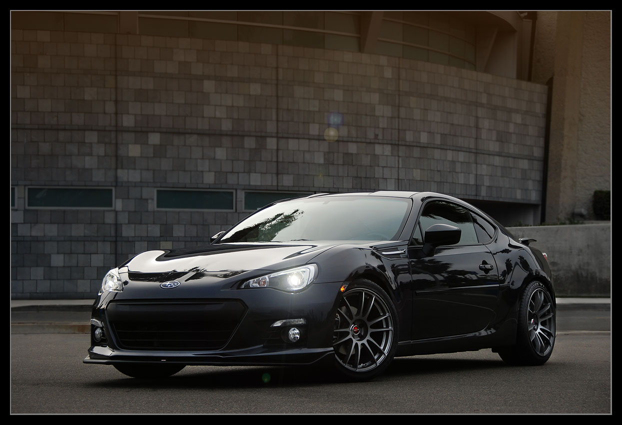 subaru brz custom wheels gram lights 57xtreme 18x8 5 et. Black Bedroom Furniture Sets. Home Design Ideas