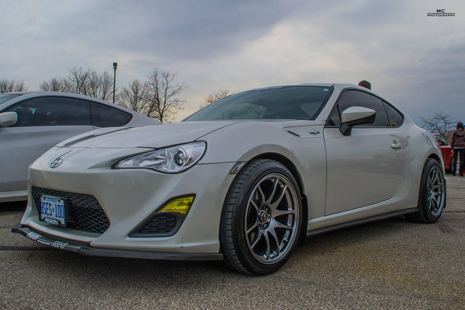 scion fr s custom wheels rota torque 18x9 5 et 35 tire size 245 40 r18 x et. Black Bedroom Furniture Sets. Home Design Ideas
