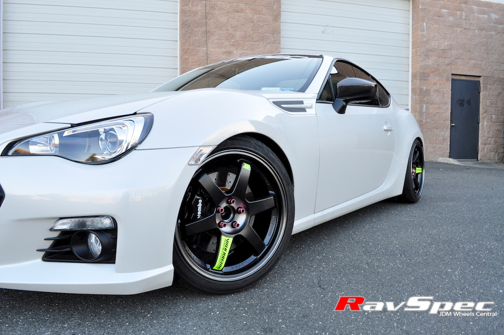 subaru brz custom wheels volk racing te37 18x8 5 et 38. Black Bedroom Furniture Sets. Home Design Ideas