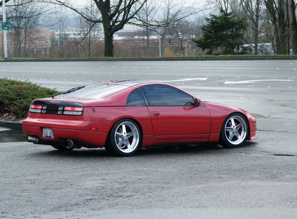 nissan 300zx 2 seat custom wheels work equip 18x9 0 et. Black Bedroom Furniture Sets. Home Design Ideas