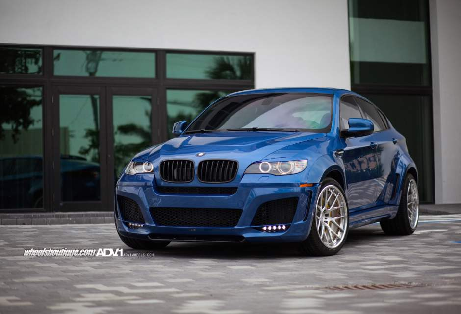Bmw X6 M Custom Wheels Adv 1 7 Deep Concave 21x10 5 Et