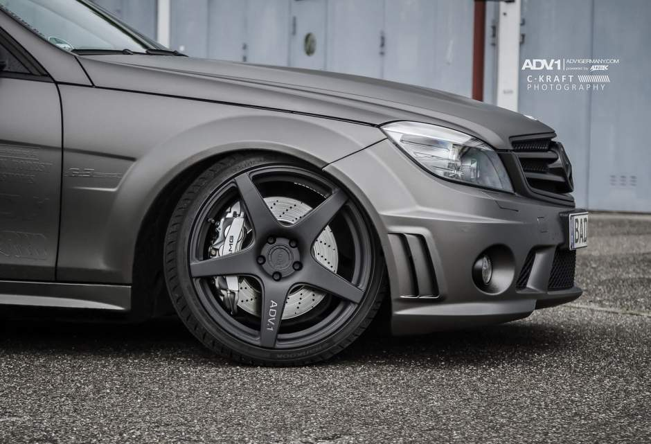 Mercedes benz c class custom wheels adv 1 5 1mv1 21x9 0 for Mercedes benz tire sizes