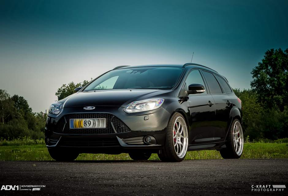 ford focus st custom wheels adv 1 5 0tf 20x9 0 et tire. Black Bedroom Furniture Sets. Home Design Ideas