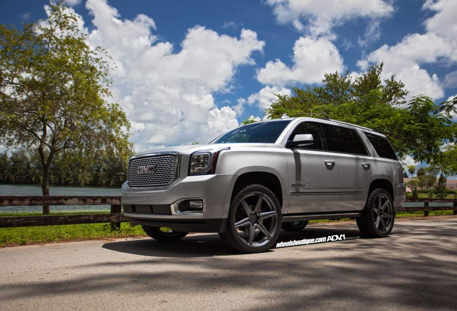 GMC Yukon custom wheels ADV.1 6 MV1 SL 24x10.0, ET , tire ...
