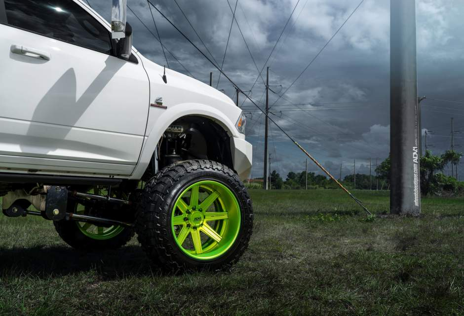 Photo 1 Dodge Ram 2500 Custom Wheels ADV1 08 Truck Spec HD SL 24x15