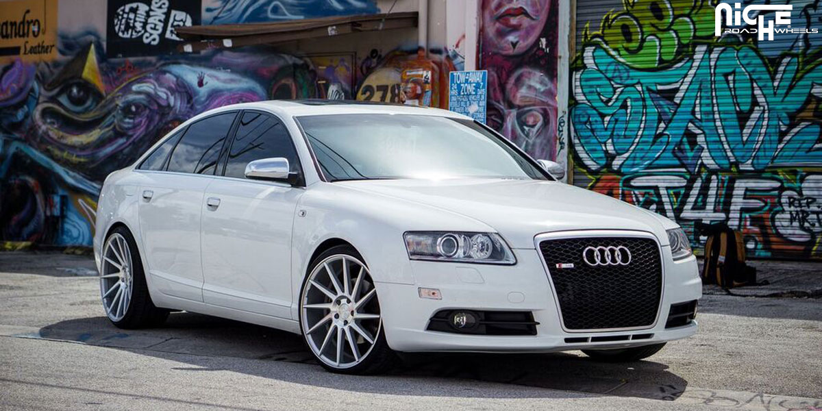 Audi A6 custom wheels Niche Surge - M112 20x8.5, ET , tire ...