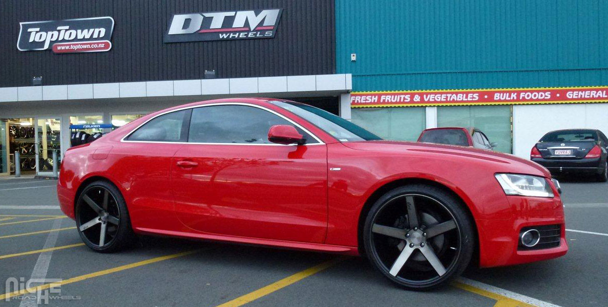 photo 3 Audi A5 custom wheels Niche Milan - M134 20x8.5, ET , tire size / R20. 20x10.5 ET