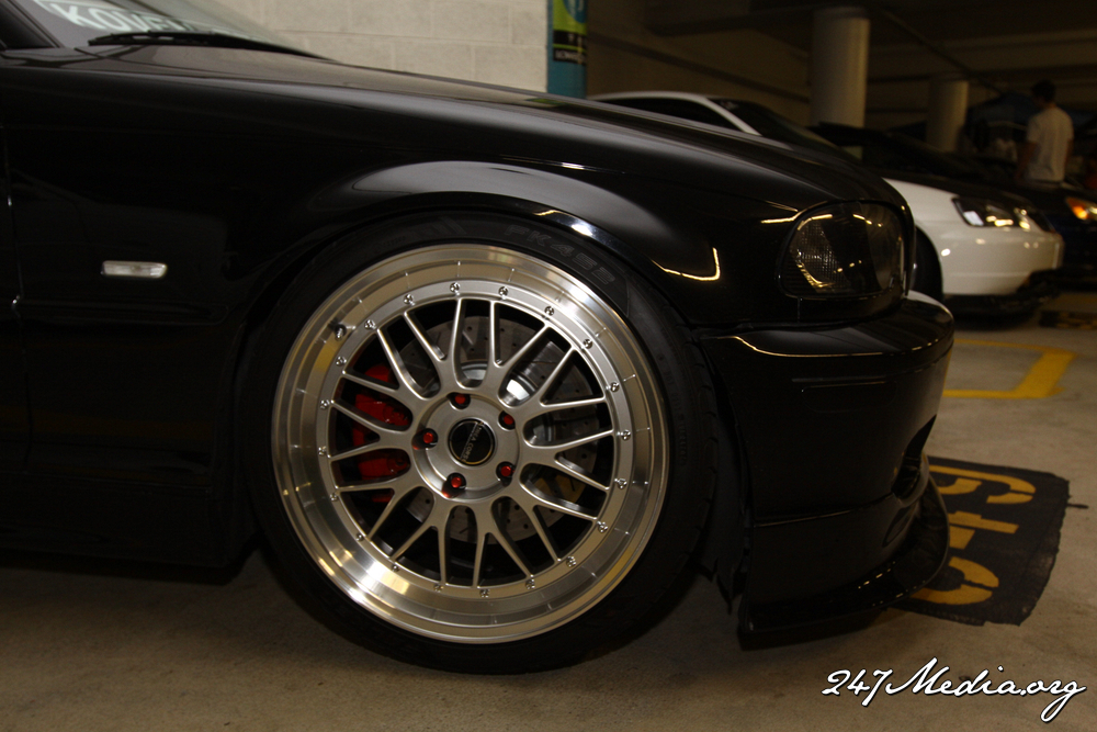 photo 6 BMW 330 custom wheels Linea Corse LeMans 19x8.5, ET +30, tire size 235/35 R19. 19x10.0 ET+37 265/30 R19